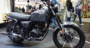 Nouveauté 2017 - Brixton Motorcyles BX 125 - Intermot 2016