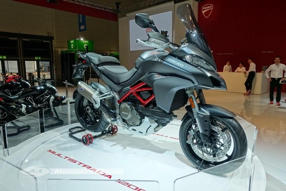 Nouveauté 2017 - Ducati Multistrada 1200 - Intermot 2016