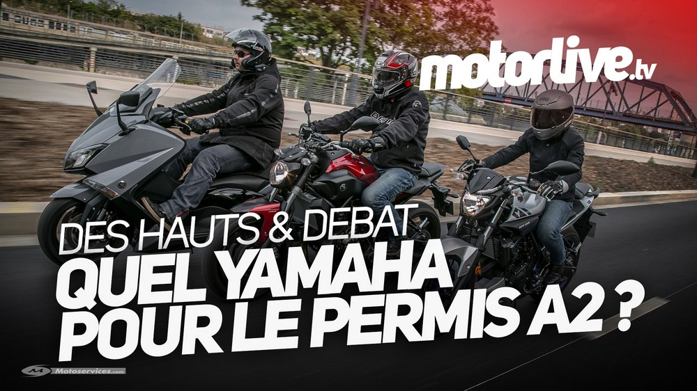 permis a2 quel yamaha pour d buter moto dz. Black Bedroom Furniture Sets. Home Design Ideas