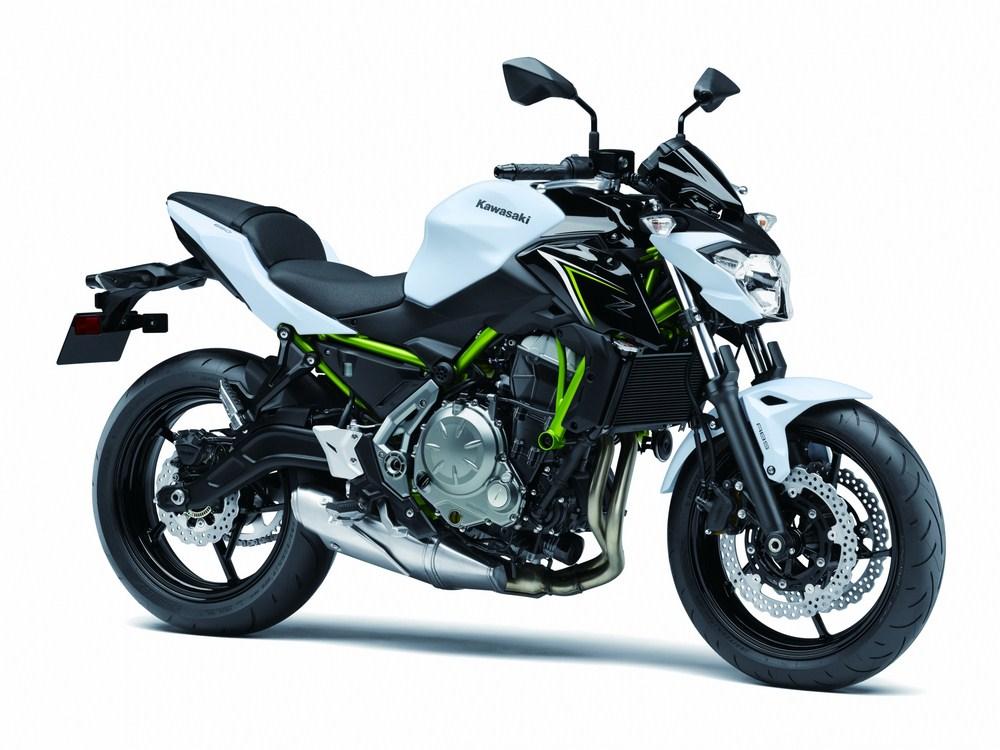 Nouveautés 2017 - Kawasaki Z650 et Z900
