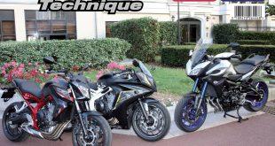 RMT 182 : Honda CB650F et Yamaha MT-09 Tracer