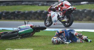 MotoGP 2016 : Bastianini blessé en Australie