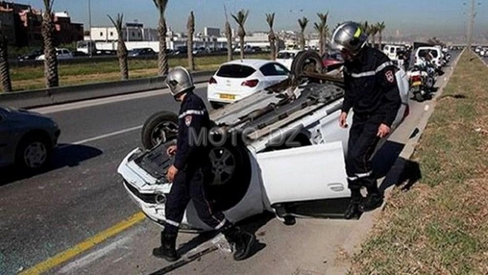 Accidents de la route : 34 morts et + de 700 blessés à Alger les 9 premiers mois 2016