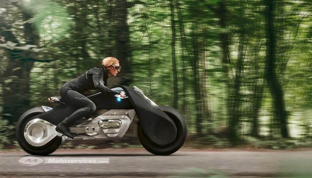 BMW Vision Next 100 : la moto du futur vue de Bavière