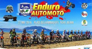 Course Enduro Moto - Plage des Hammadites - 27 mai 2016