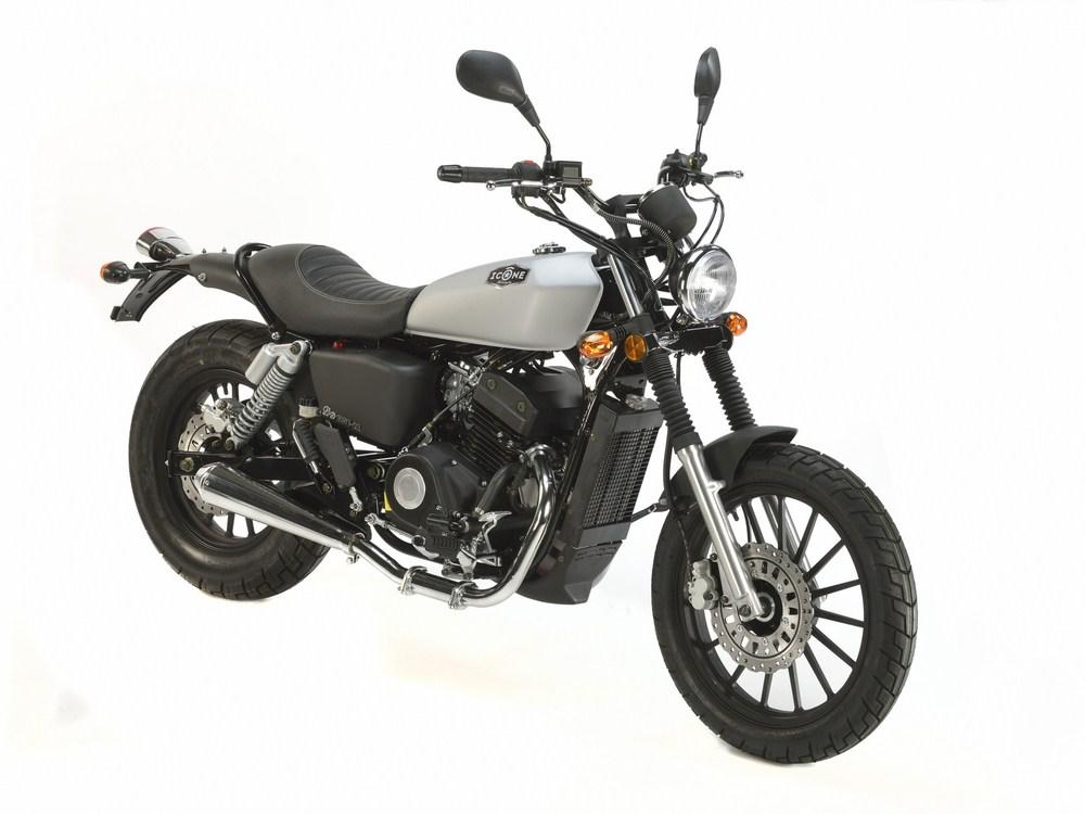 nouvelle ic ne 125 twin le mini bobber des permis b et a1 moto dz. Black Bedroom Furniture Sets. Home Design Ideas