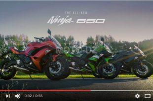 Vidéo : nouvelle Kawasaki Ninja 650