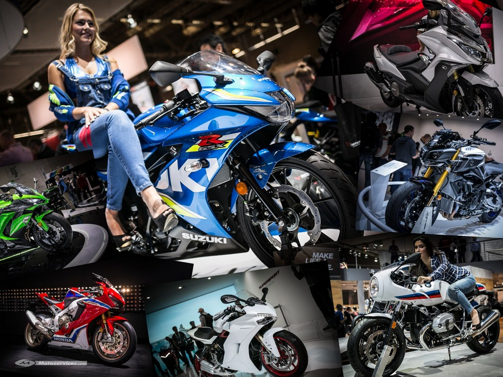 Nouveautés motos 2017 : dossier spécial Intermot