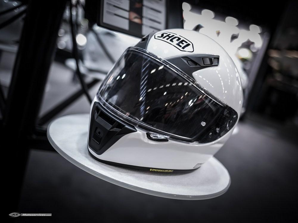 Nouveauté 2017 : casque Shoei RYD - Intermot 2016