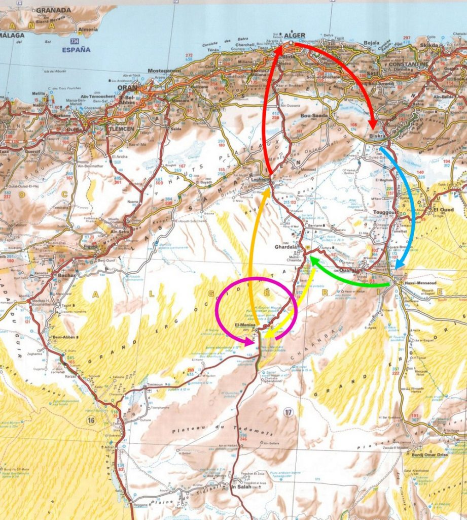 Départ du Rallye Challenge Sahari International