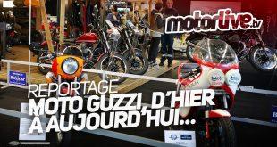 Vidéo Moto Guzzi Salon Moto Légende 2016