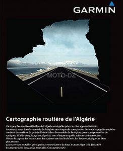 Garmin Algérie : mise à jour de sa cartographie