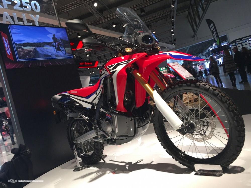 Nouveauté 2017 : Honda CRF 250 Rally