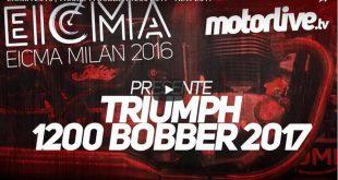 Triumph Bobber 1200 - Eicma 2016