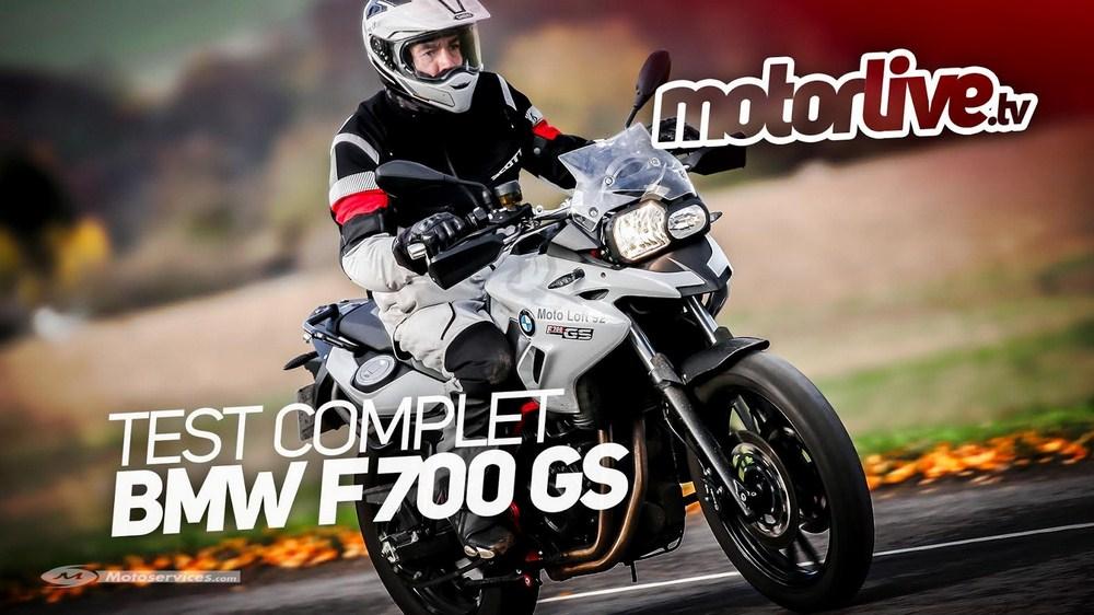 Vidéo essai BMW F 700 GS