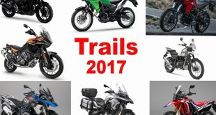 Motos trails 2017