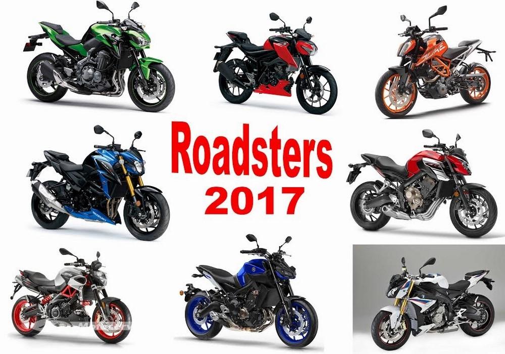 Moto roadsters 2017