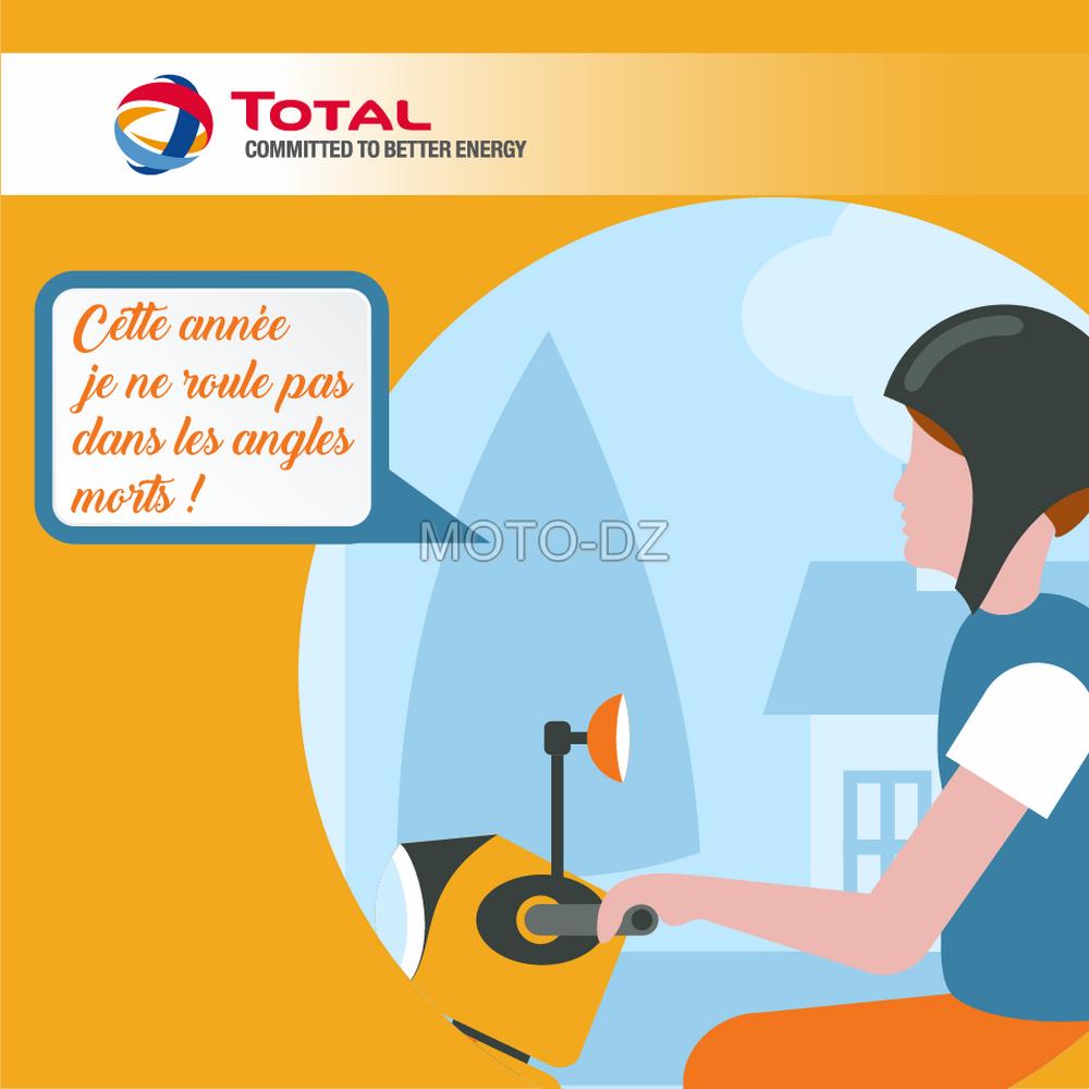 Campagne « Total Algérie » : les usagers de la moto sont ciblés …