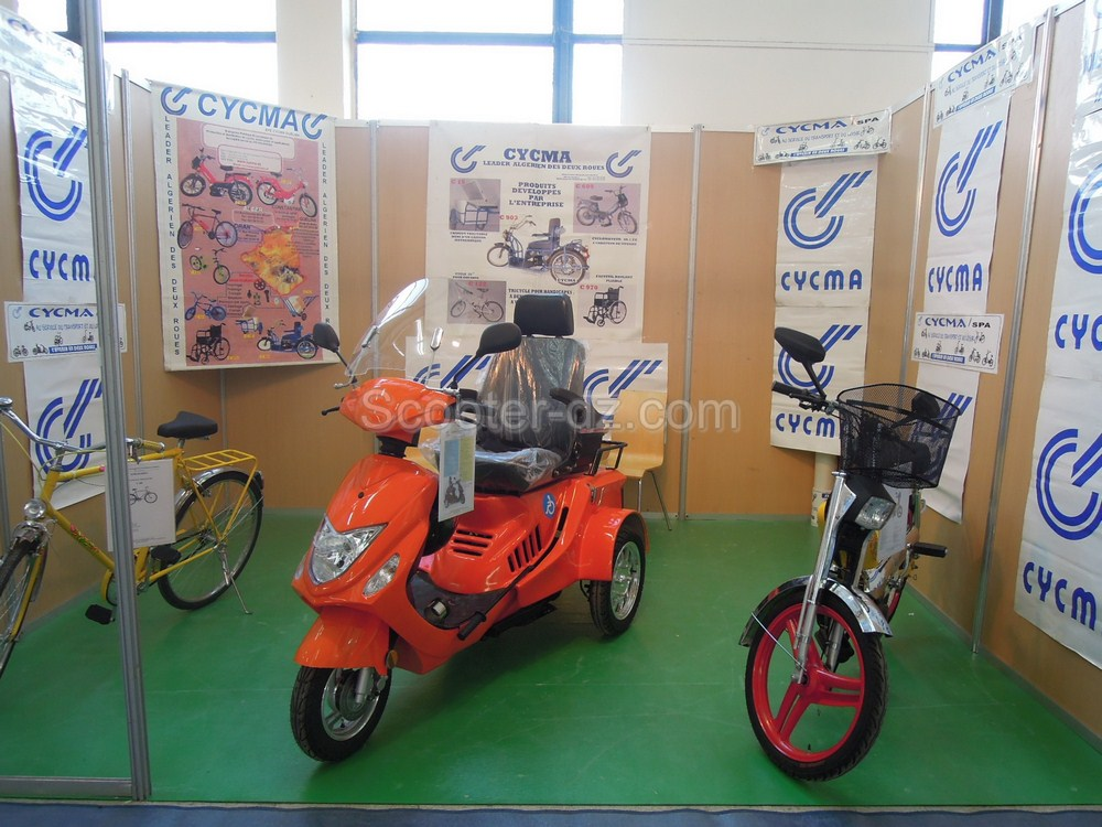 moto pour handicapé: cycma-guelma