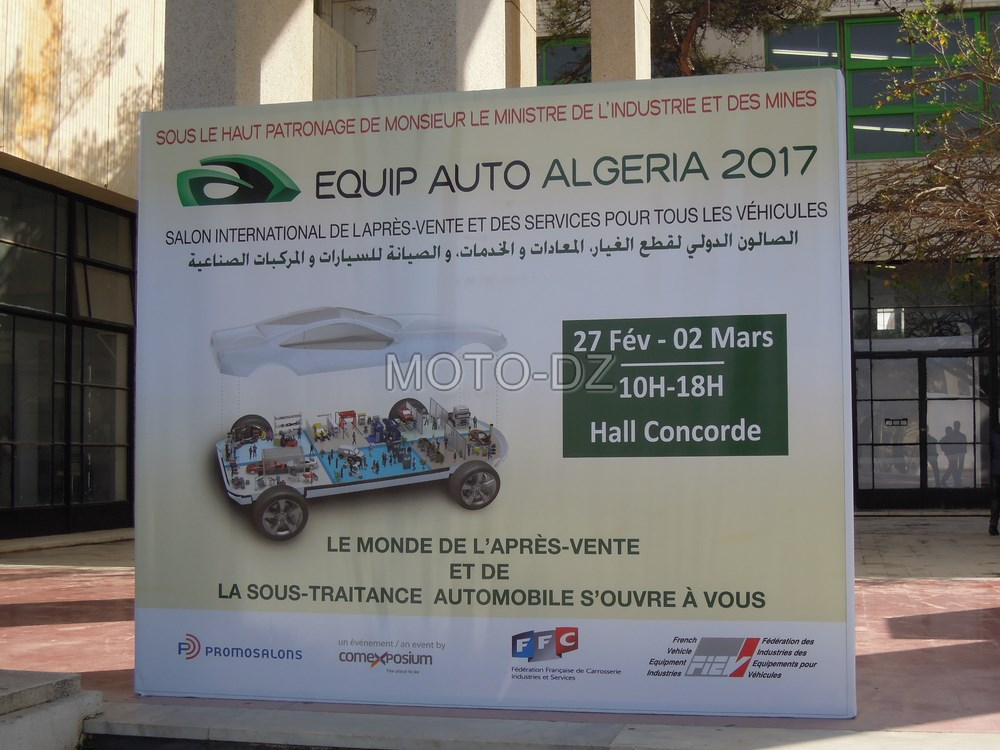 Salon international EQUIP AUTO ALGERIA 2017