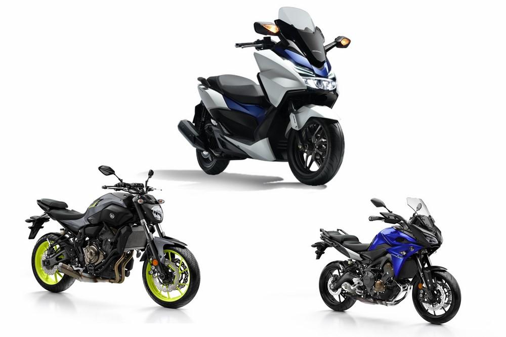 Marché moto - scooter janvier 2017