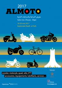 ALMOTO, le « Salon du 2 Roues d'Alger » 16-20 mai 2017