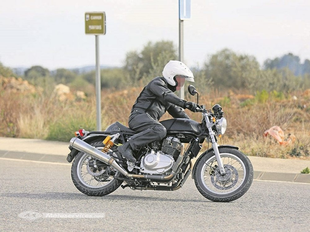 Royal Enfield Continental GT 750 2017