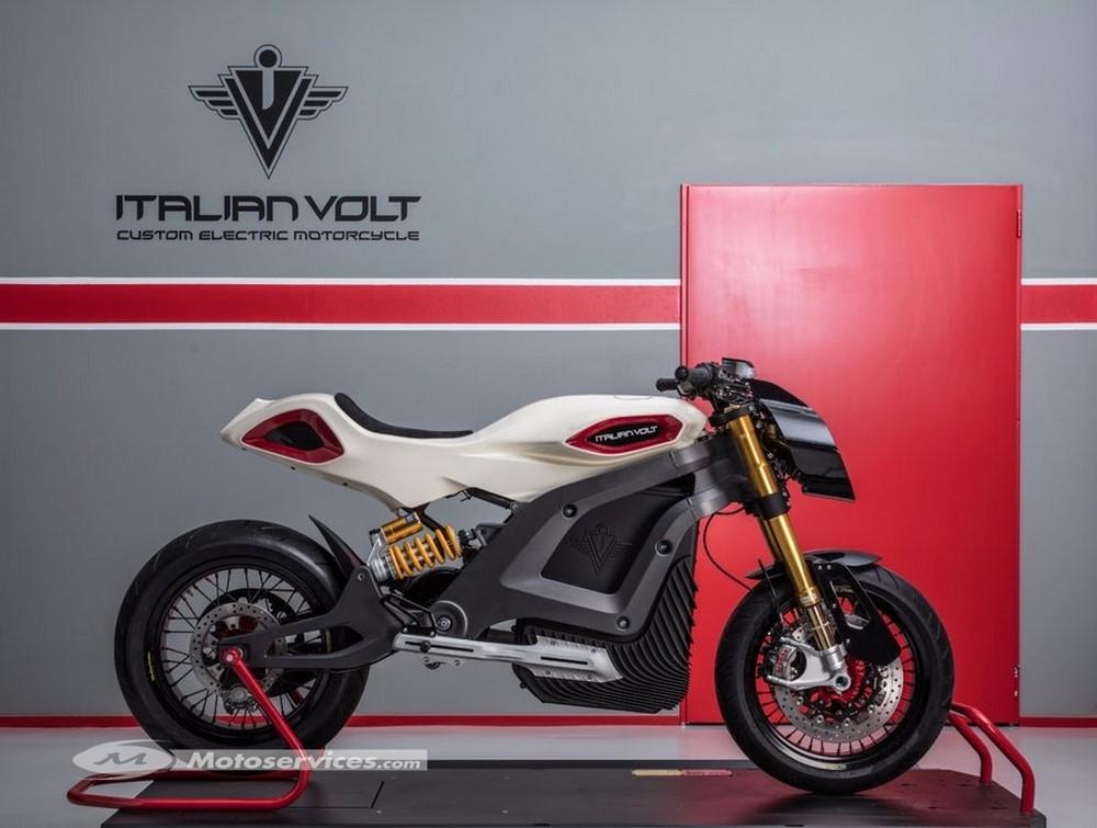 Moto électrique Italian Volt Lacama