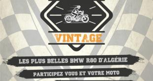 ALMOTO 2017 : un concours «BMW R80 VINTAGE» est lancé