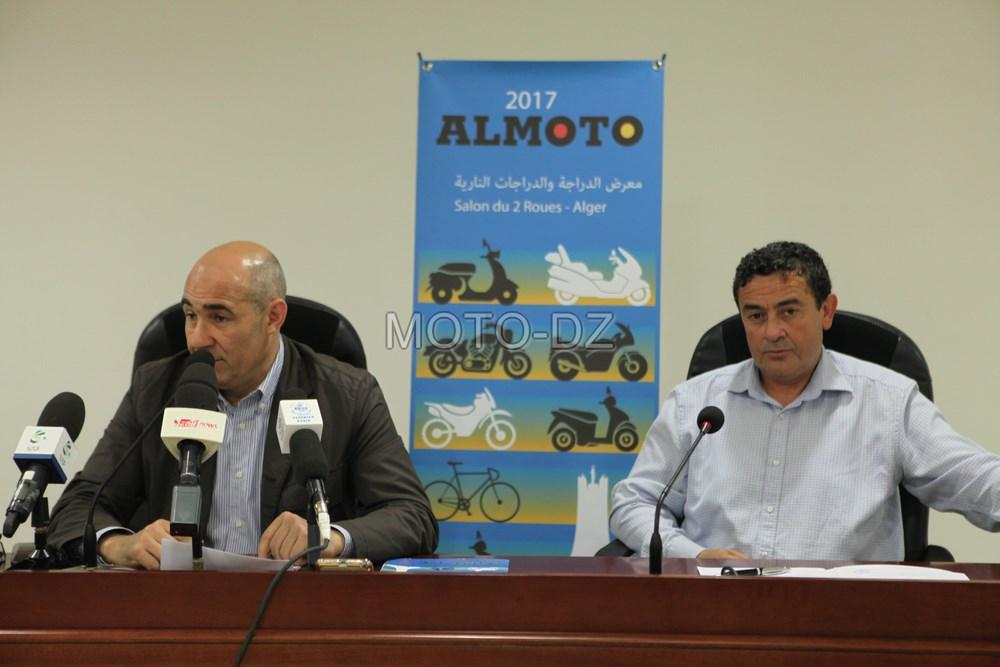 ALMOTO 2017 : conférence de presse du « Salon du 2 Roues d'Alger »