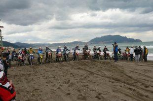 LSM Wilaya de Bejaïa : course de moto cross sur sable