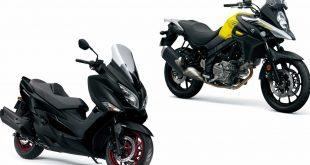 Suzuki Burgman et V-Strom Euro4