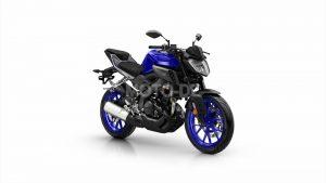 yamaha MT-125 bleu