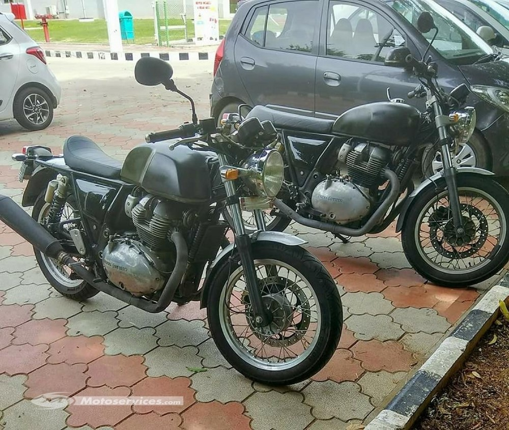 royal enfield twin 750 500 cm3 2018 caf racer ou classique moto dz. Black Bedroom Furniture Sets. Home Design Ideas