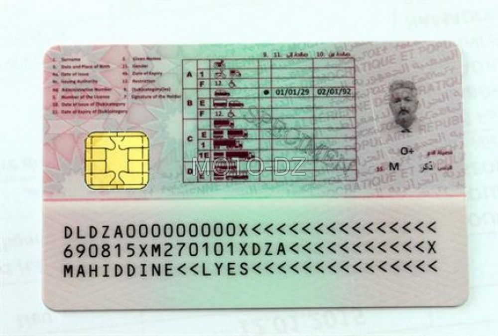 Entrée en vigueur du permis à points le premier semestre 2018
