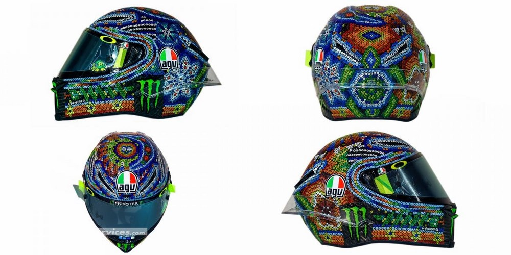 motogp 2018 el sombrero d hiver de rossi moto dz. Black Bedroom Furniture Sets. Home Design Ideas