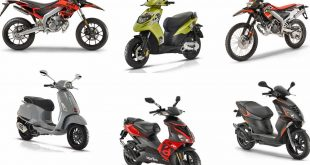 Piaggio, Aprilia, Vespa : les modèles moto et scooter 50 Euro4 2018