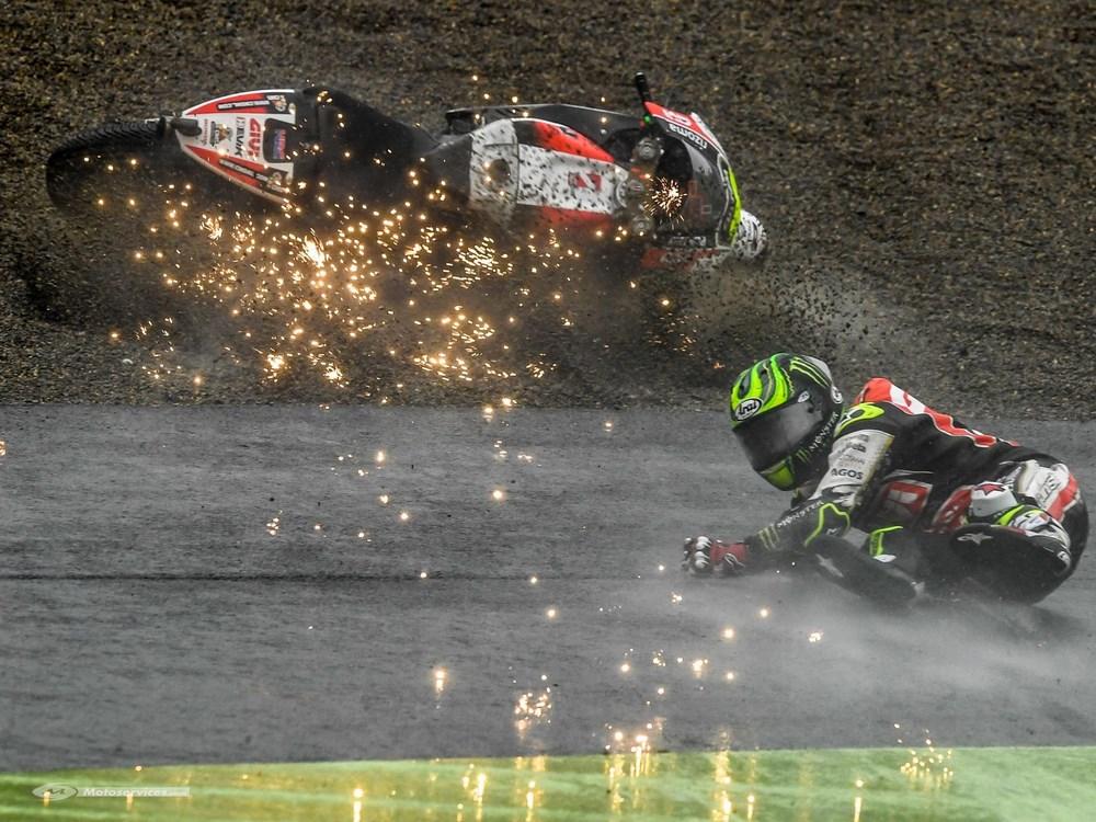 MotoGP 2017 : Les virages où l'on a le plus chuté …