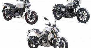 RKF, K-Light et New RKV 125 : les nouvelles motos Keeway 2018