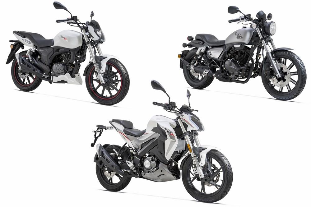 rkf k light et new rkv 125 les nouvelles motos keeway 2018 moto dz. Black Bedroom Furniture Sets. Home Design Ideas
