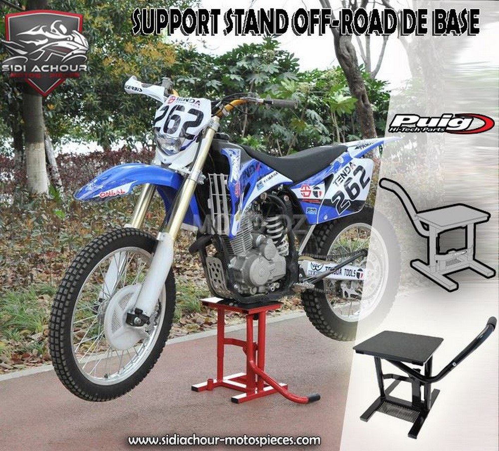 b quille de stand basique pour votre moto enduro moto dz. Black Bedroom Furniture Sets. Home Design Ideas