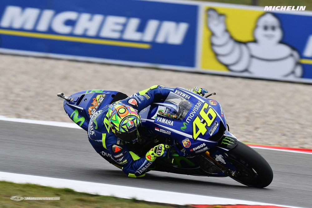 MotoGP 2017 : Le match Michelin/ Rossi,