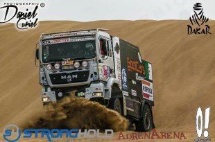 """Dakar 2018 : un équipage 100% algérien dans la catégorie """"camion"""""""