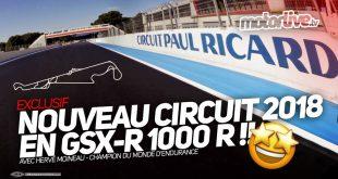 En GSXR 1000R sur le nouveau Paul Ricard