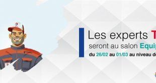 Total Algérie : un casque à gagner à EQUIP'Auto 2018