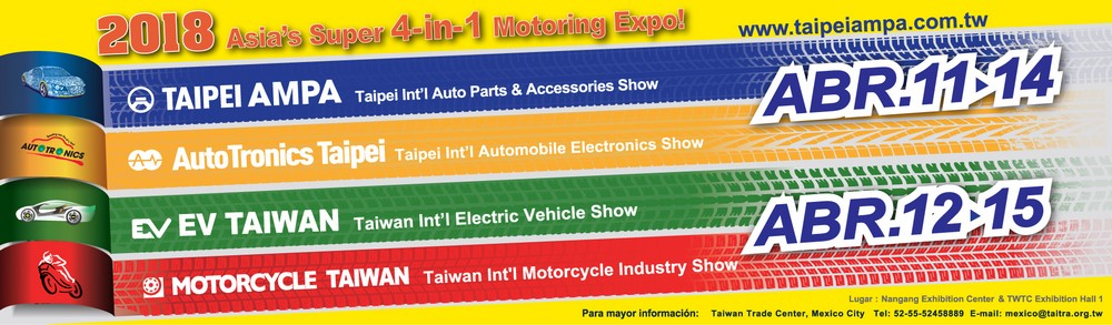 Taiwan Trade Center Algiers : Asia's Super 4-in-1 Motoring Expo !