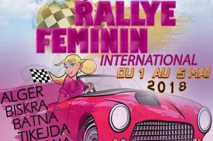 """Rallye International Féminin """"Les Colombes"""" : 1 au 5 mai 2018"""