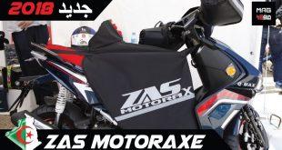 ZAS Motoraxe : nouveautés 2018 | Salon Almoto