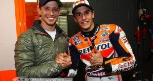 MotoGP : Marquez et Stoner à égalité de victoires mais pas pour le reste.