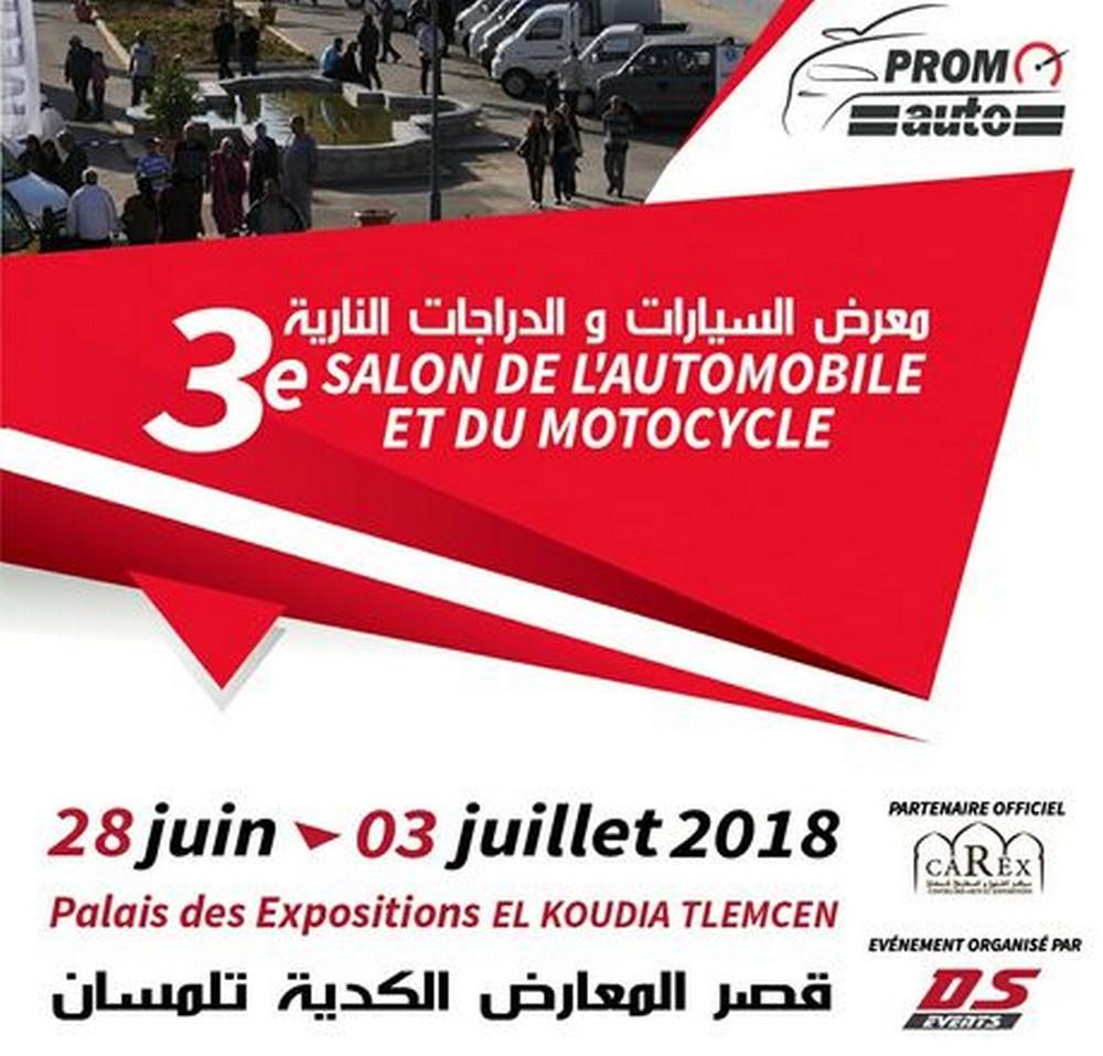 Tlemcen 3ème édition du Salon de l'Automobile et du Motocycle